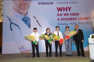 Thành công của VINSON WORKSHOP 30/07/2017 - Why Do We Need A PicoWay Laser?